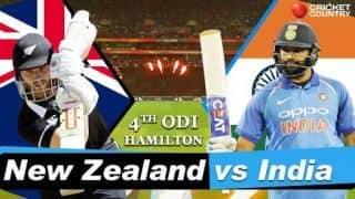 India vs New Zealand 2019, 4th ODI, live cricket score, Seddon Park, Hamilton: Trent Boult's 5/21 hands New Zealand dominant win