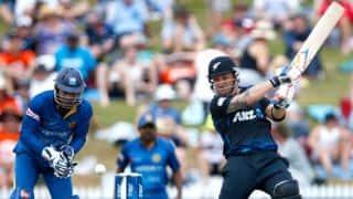 Live Cricket Score, New Zealand vs Sri Lanka 2014-15, 3rd ODI at Auckland: Match abandoned due to rain; series level 1-1