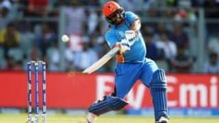T10 League: Mohammad Shahzad smashes 12-ball fifty; Rajputs chase 95 runs in 4 overs