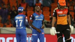 VIDEO: After defeating Hyderabad, Delhi register consiqutive third victory in IPL