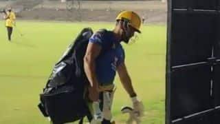 IPL 2020 : दीपक चाहर और रुतुराज को छोड़ CSK के खिलाड़ियों ने नेट्स पर जमकर बहाया पसीना
