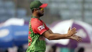 Shakib to miss first Test against Sri Lanka