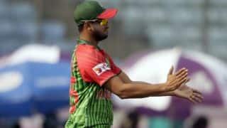 Shakib Al Hasan to miss first Test against Sri Lanka
