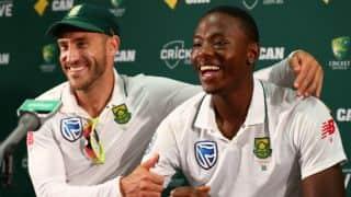 Faf du Plessis: Incredibly proud of Kagiso Rabada