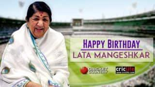 Lata Mangeshkar and her tweets on cricket