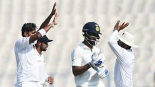 India vs Sri Lanka, 1st Test: Suranga Lakmal's 3-for restricts hosts at 251-5 before lunch, Day 5