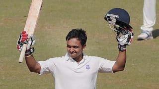 Live Cricket Score Ranji Trophy 2013-14 final, Karnataka vs Maharashtra: Day 5