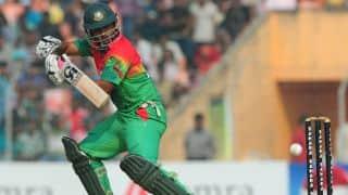 Bangladesh vs Pakistan ICC Cricket World Cup 2015 warm-up match at Sydney: Tamim Iqbal, Mahmudullah complete half-centuries; add 100 runs for 3rd wicket