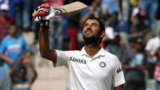 Cheteshwar Pujara becomes 11th Indian to complete 6000 runs in Test cricket, hits 27th half-century