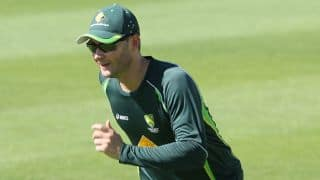 Michael Clarke's availability in doubt for 1st ODI against Zimbabwe