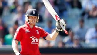 Eoin Morgan's ton powers England to 300/8 against Australia in 2nd ODI