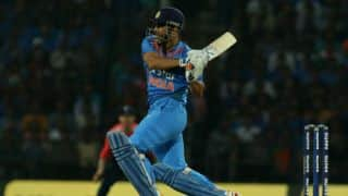 MS Dhoni registers maiden T20I fifty during India-England 3rd T20I
