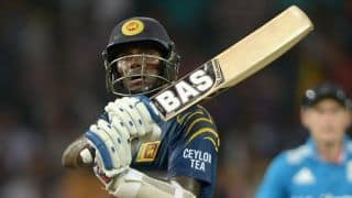 Sri Lanka vs England 2014: Skipper Angelo Mathews falls for 20