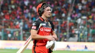 De ViIlliers, Mills expected to return to RCB line-up against KKR