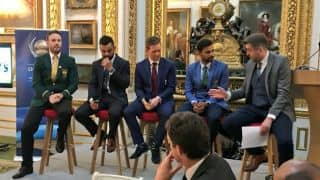 ICC Champions Trophy 2017: Virat Kohli attends opening dinner with other captains