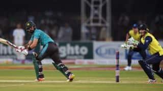 अहमद शहजाद की धमाकेदारी पारी की बदौलत पाकिस्तान ने वर्ल्ड इलेवन को दिया 184 का लक्ष्य
