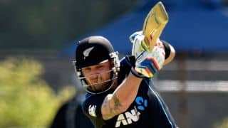 Brendon McCullum signs one-year deal for New Zealand
