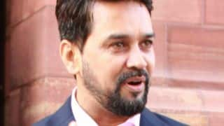 Thakur: BCCI needs time, Lodha committee is not giving time for past 2 months