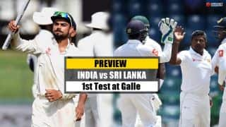 India vs Sri Lanka, 1st Test at Galle: The mace holders face depleted hosts
