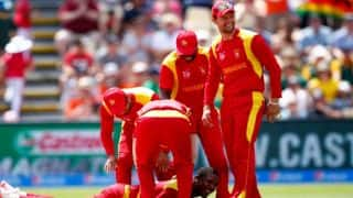 ICC World T20 2016: Zimbabwe ease to 14-run win against Hong Kong at Nagpur