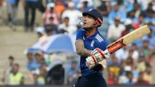 India vs England: Alex Hales ruled out of remaining games with fractured hand