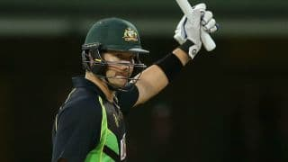 Shane Watson century propels Australia to 197 for 5 against India in 3rd T20I at SCG