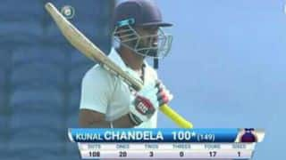 Delhi opener Kunal Chandela had to miss college exams due to Ranji Trophy