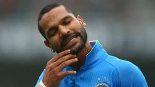 Dhawan's form a worry, but there are hopes