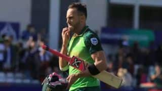 Euro T20 Slam: Faf du Plessis play for Belfast Titans