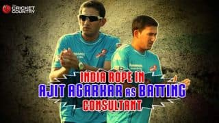 India rope in Ajit Agarkar as batting consultant for 2nd Test at Lord's