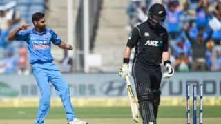 Bhuvneshwar Kumar, Yuzvendra Chahal rock New Zealand batting; India need 231 runs to win 2nd ODI