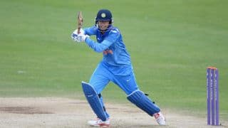 ICC Womens World Cup, 2017:  Smriti Mandhana becomes first batsmen to hit six inside 10 overs in Women's world cup