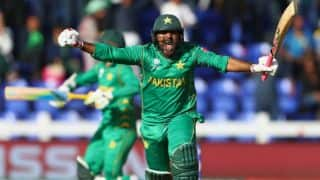 ICC Champions Trophy 2017: Sarfraz Ahmed praises Mohammad Aamer's 'calm' knock after Pakistan's victory over Sri Lanka
