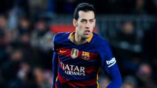 Sergio Busquets, Arda Turan absent during Barcelona training session