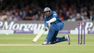 Sri Lanka lose two quick wickets against South Africa in 2nd ODI at Pallekele