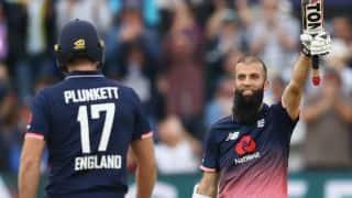 मोईन अली के सबसे तेज शतक की दम पर इंग्लैंड ने वेस्टइंडीज को धोया