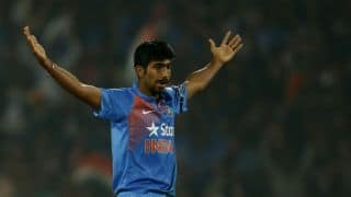 Watch how Akshar Patel fended Jasprit Bumrah's 'verbal yorkers'