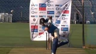 Players undertake net sessions at Cuttack ahead of India-England 2nd ODI