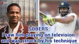 Sobers: Saw Jadeja playing on television, was struck by technique