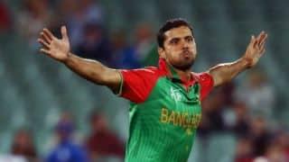 Mashrafe Mortaza makes 150th ODI appearance during 2nd ODI between Bangladesh and Pakistan at Mirpur