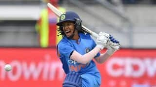 2nd ODI: Jemimah Rodrigues helps India to 135/6