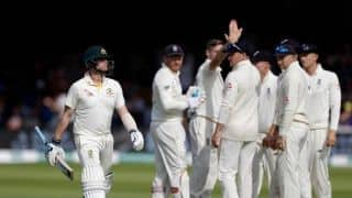 Ashes 2019, Lord's Test, Day 4: Smith misses third ton after suffering blow to the head, Australia bowled out for 250