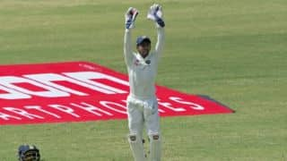 Wriddhiman Saha equals MS Dhoni, Syed Kirmani's record