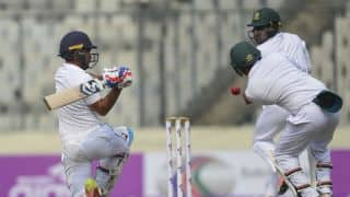 Sri Lanka lead Bangladesh by 199 runs at tea on Day 2 of 2nd Test