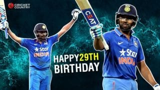Rohit Sharma celebrates 29th birthday