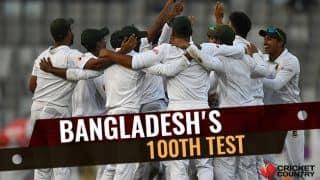 Bangladesh's 100th Test: Timeline