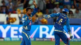 Shane Watson, Sanju Samson dismissed in Rajasthan Royals vs Mumbai Indians, IPL 2014