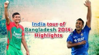 India tour of Bangladesh 2014: Highlights of ODI series