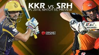 Kolkata Knight Riders (KKR) vs Sunrisers Hyderabad (SRH), IPL 2016, Match 55, Predictions and Preview: SRH aim to secure berth in playoffs