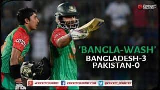 Soumya Sarkar's maiden hundred scripts historic 'Bangla-wash' against Pakistan